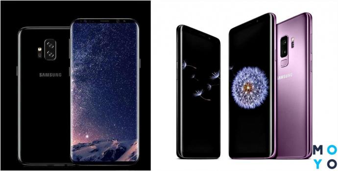 Игровые смартфоны Samsung Galaxy S9 и Galaxy S9+