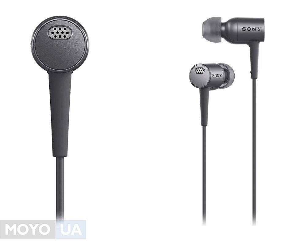 наушники с активным шумоподавлением MDR-EX750NA h.ear in NC