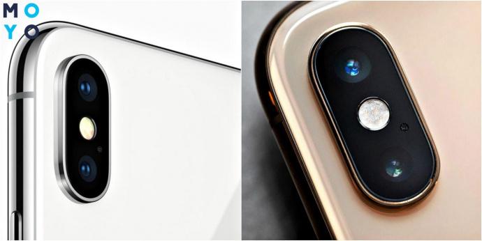 Камера iPhone XS и iPhone X