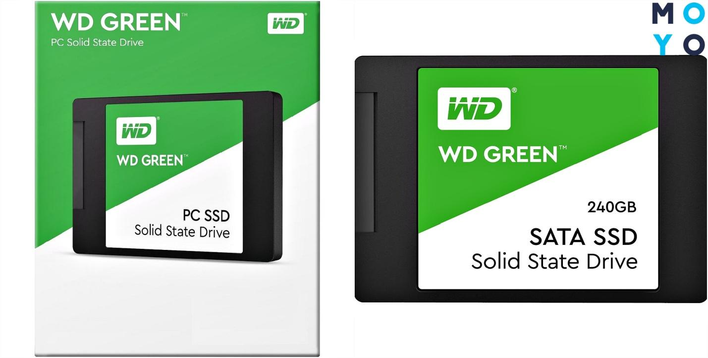 SSD-диск WD Green 240GB SATA TLC WDS240G2G0A