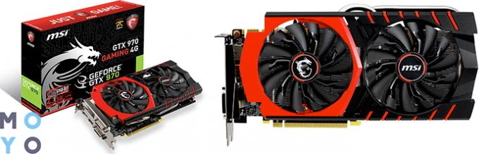 Игровая видеокарта NVidia GeForce GTX 970