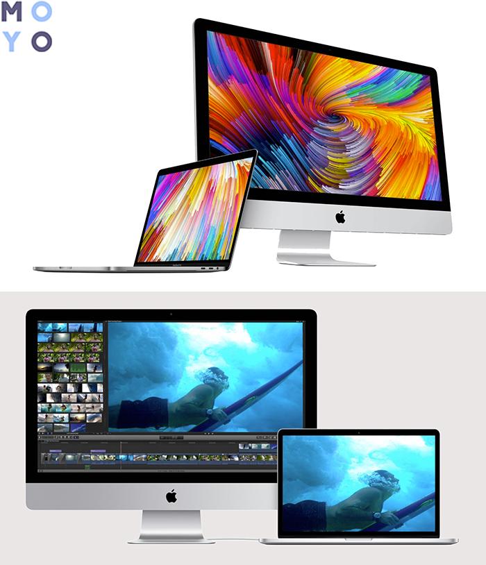 Сравнение MacBook и iMac