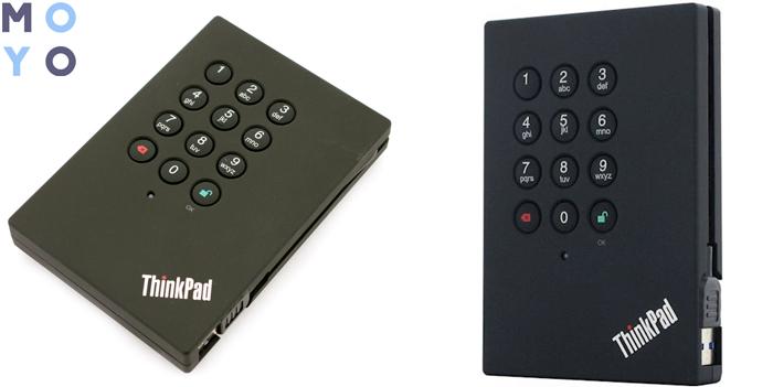 LENOVO ThinkPad USB 3.0 Secure Hard Drive 1TB с цифровой панелью