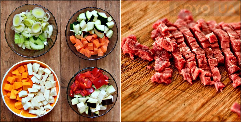 Овощи для кухонного комбайна