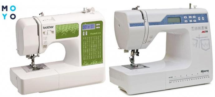 Электронные швейные машинки