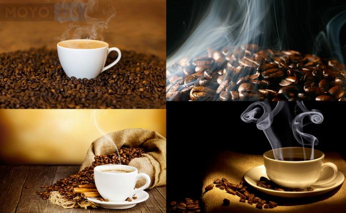 ароматный свежеобжаренный кофе