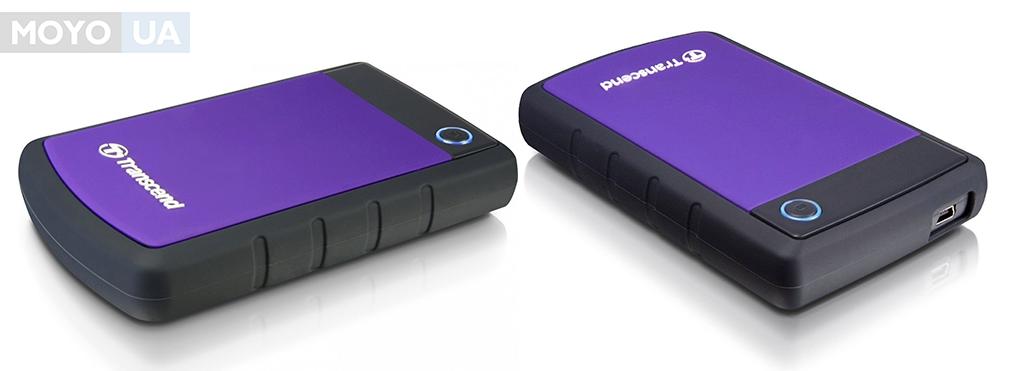 """TRANSCEND 2.5"""" USB3.0 StoreJet, серия H 500GB (TS500GSJ25H3P)"""