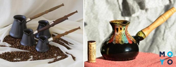 Турки из металла и керамики