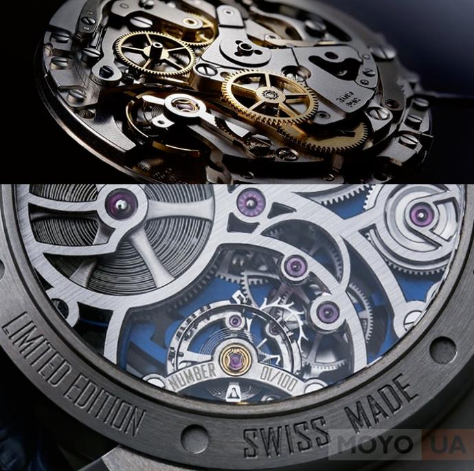 Швейцарский и японский часовой механизм