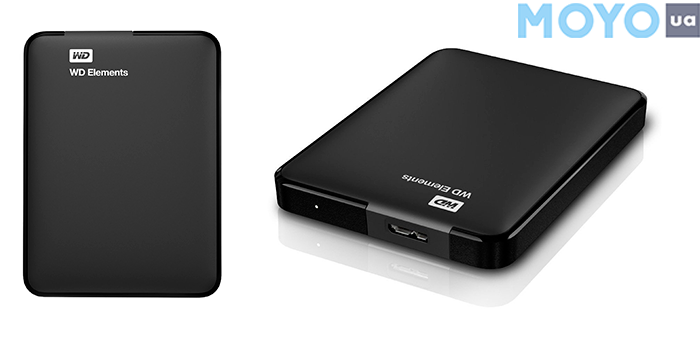 WD 2.5 USB 3.00 2TB 5400rpm Elements Portable