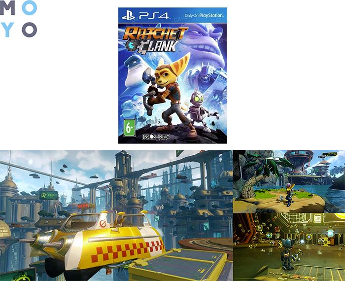Игра Ratchet & Clank на PS4