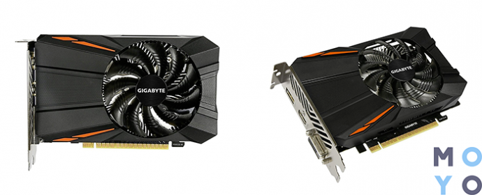 GIGABYTE GeForce GTX 1050 2GB DDR5