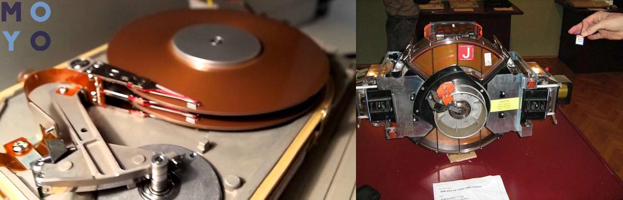 Жесткие диски Seagate и Western Digital 80-х годов