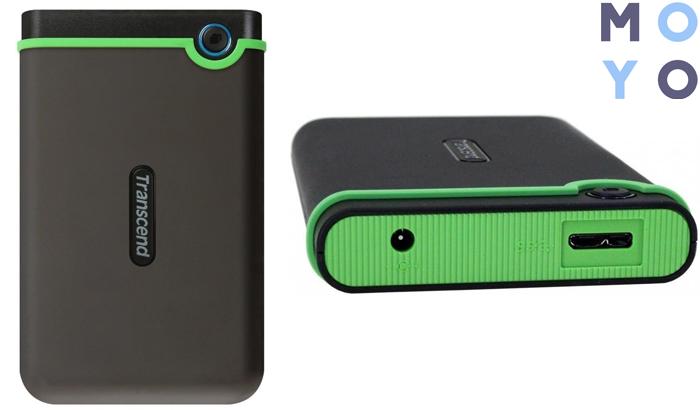 "TRANSCEND 2.5"" USB 3.0 StoreJet 2TB в защищенном корпусе"