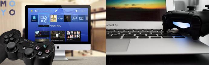 подключение PS4 к ПК, ноутбуку
