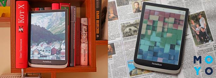 зовнішній вигляд і розміри PocketBook 740