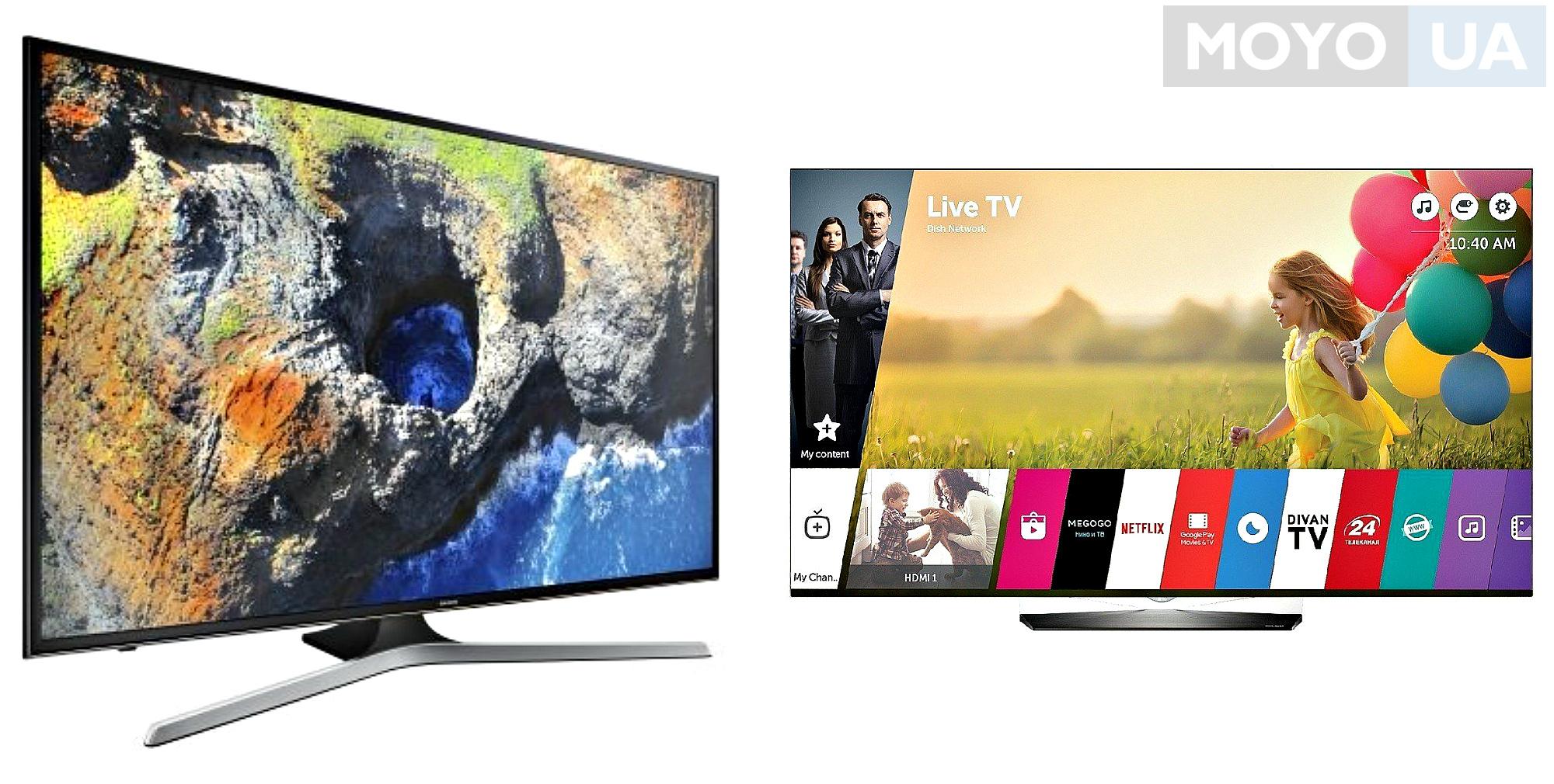 Телевизоры с LED и OLED подсветкой
