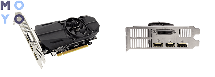 GIGABYTE GeForce GTX 1050 TI Low Profile