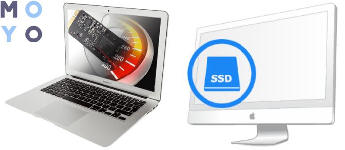 как установить ссд в MacBook и iMac