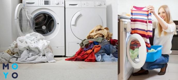 Сортировка одежды для стиральной машины
