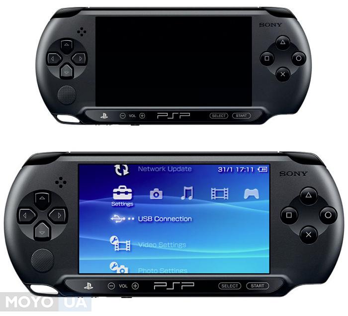 Бюджетная модель портативной консоли PSP-E1000