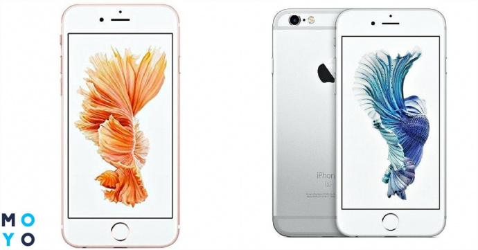 Смартфоны Apple iPhone 6s и 6s Plus