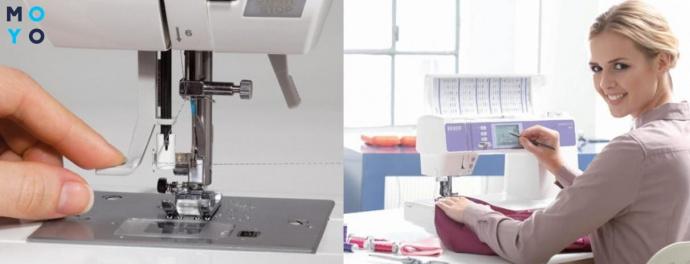 Управление электронной швейной машинкой