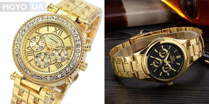 Наручные часы с корпусом из золота