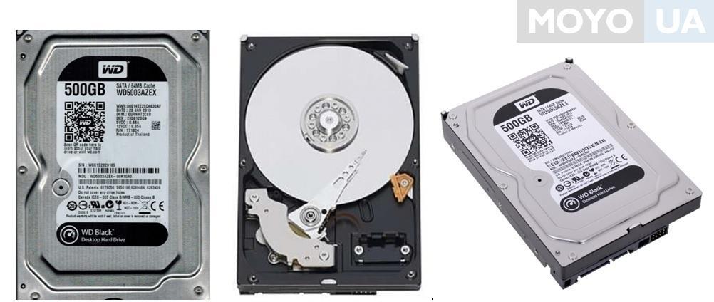 Внутренний жесткий диск WD SATA 500GB 7200RPM 6GB/S/64MB WD5003AZEX