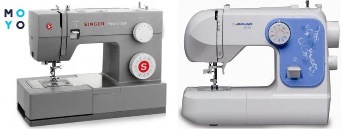 2 электромеханические швейные машинки