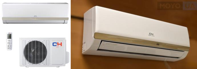 CH-S09XP7 AIR MASTER PLUS — бесшумная сплит-система в стильном дизайне