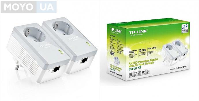 Powerline-адаптер TP-Link TL-PA4010PKIT