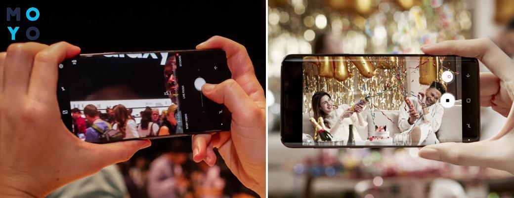 Съемка на Samsung Galaxy S9+
