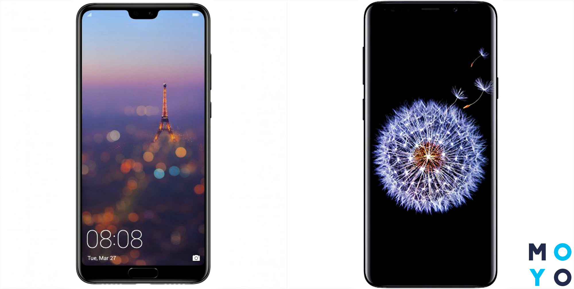 Камерофоны Huawei P20 Pro и Samsung Galaxy S9