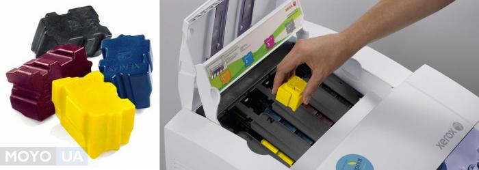 Твердочернильные принтеры