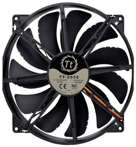 Вентилятор для корпуса Thermaltake Pure 20 DC Fan (CL-F015-PL20BL-A) фото