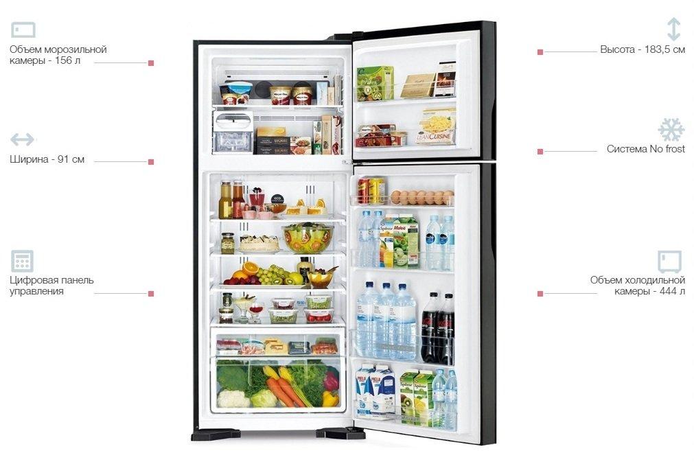 Холодильник Hitachi R-V720PUC1KXINXфото4