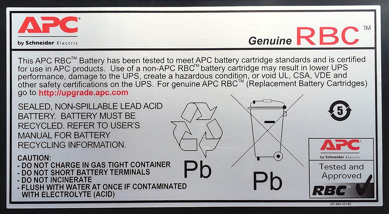 Батарея APC Replacement Battery Cartridge #140 (APCRBC140)фото