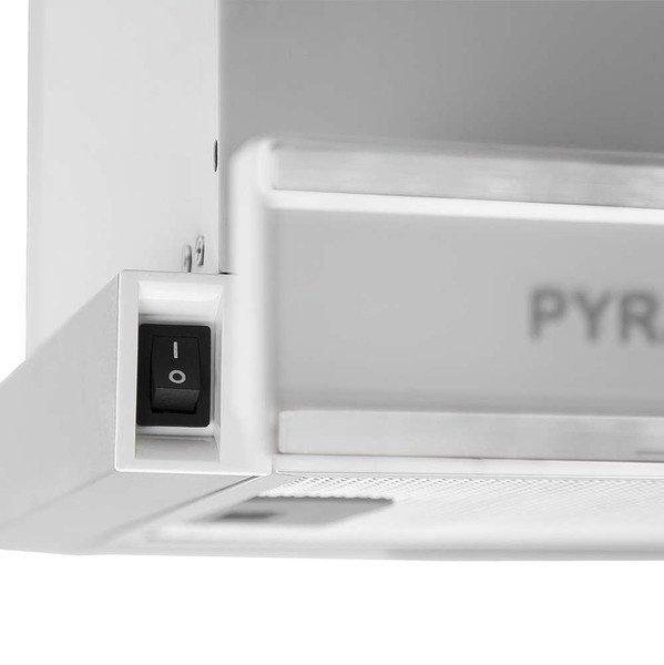 Вытяжка PYRAMIDA TL glass 50 INOX WHITE/N фото 4