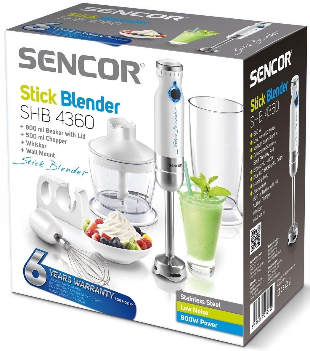 Блендер погружной Sencor SHB4360 фото 7