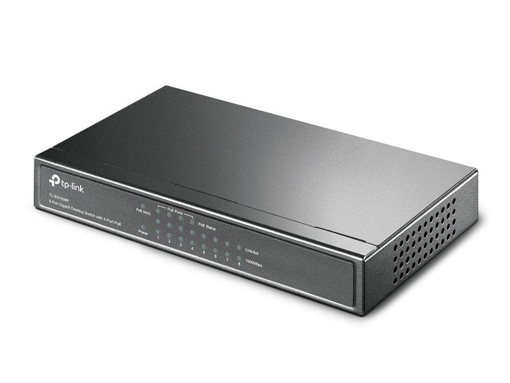 Коммутатор TP-LINK TL-SG1008P (TL-SG1008P) фото