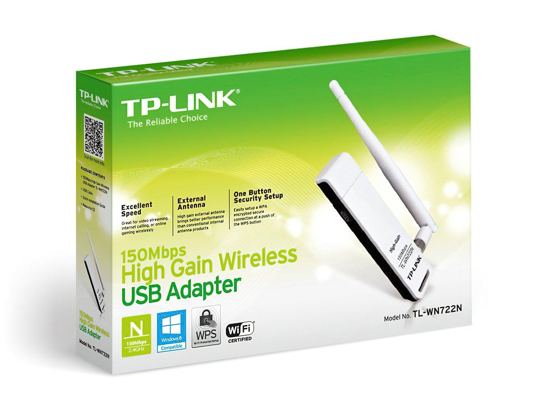 WiFi-адаптер TP-LINK TL-WN722Nфото5
