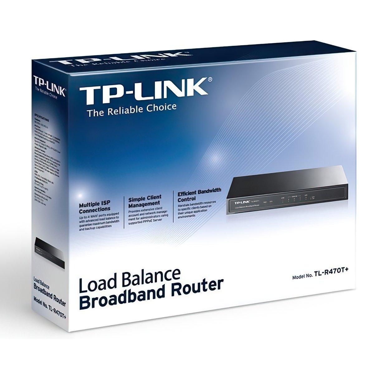Маршрутизатор TP-Link TL-R470T+ 3xLAN/WAN, 1xWAN (TL-R470T+) фото