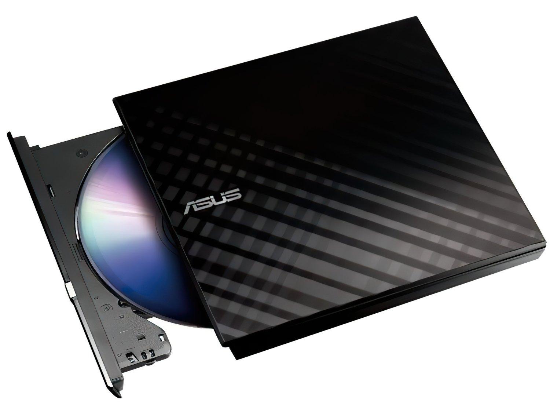 Внешний оптический привод ASUS DVD±R/RW USB 2.0 (SDRW-08D2S-U_LITE/BLK) Black фото