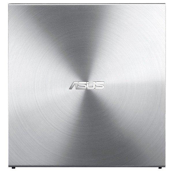 Внешний оптический привод ASUS SDRW-08U5S-U DVD+-R/RW USB2.0 EXT Ret Ultra Slim Silver фото