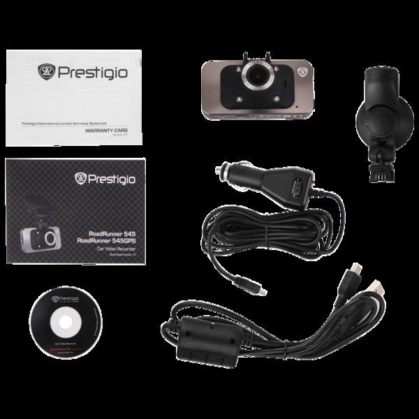 Видеорегистратор Prestigio PCDVRR545 GPS фото 2