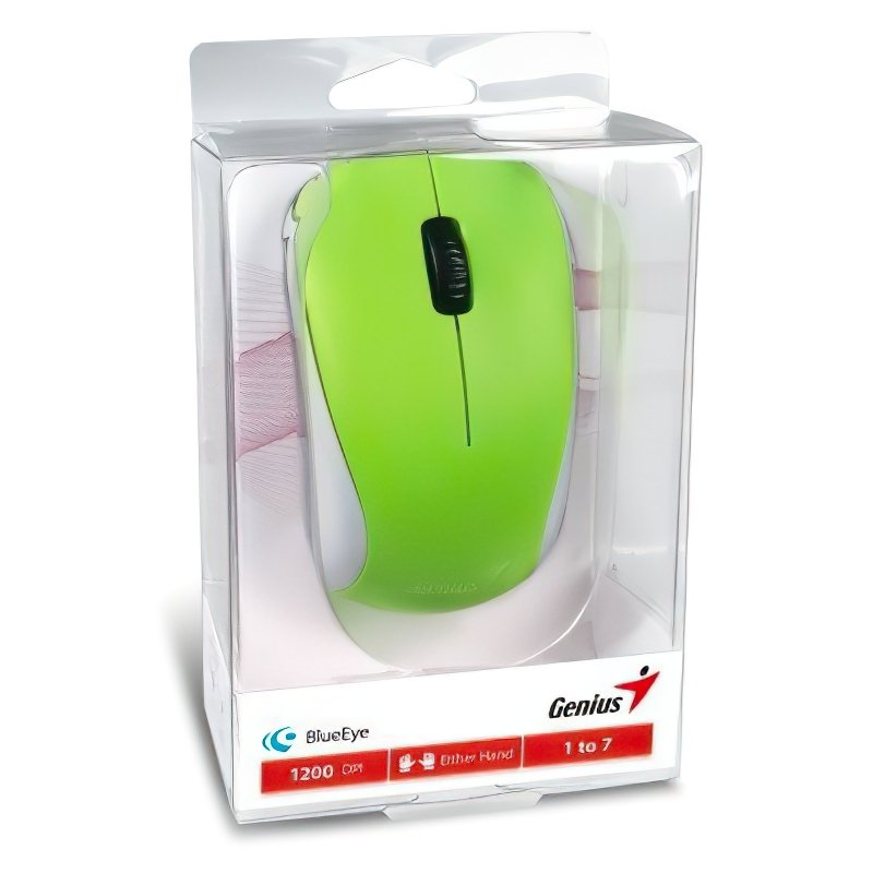 Мышь Genius NX-7000 Green (31030012404) фото