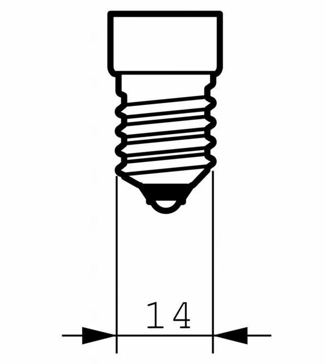 Лампа накаливания Philips E14 60W 230V P45 CL 1CT/10X10F (926000005064) фото 2
