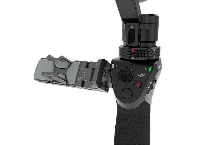Трёхосевой ручної стабілізаційний підвіс DJI Osmoфото