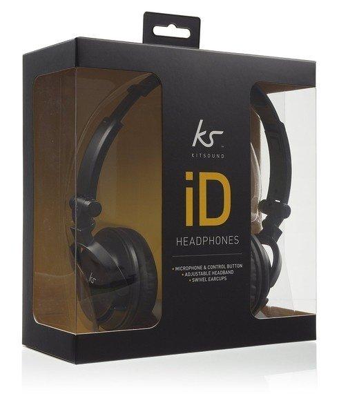 ≡ Навушники KitSound iD mic black – купити в Києві  56f4231fef6d2